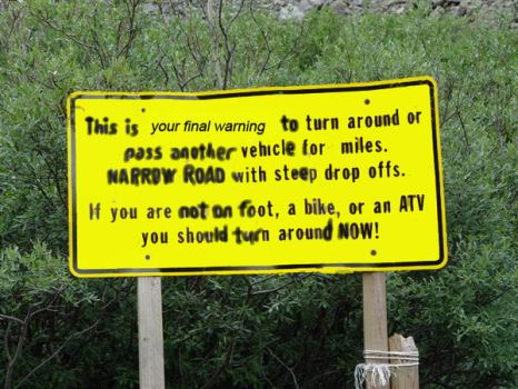 Made-Up Sign by mactrack810