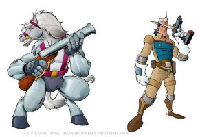 Marshal Bravestarr by lordsmiley