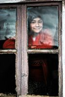 A Girl At Window by LeNaSs