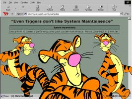 We all h8 System Maintainence by tiggercrazyfans