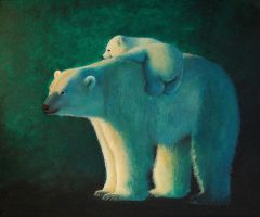 Polar Bears by moussee