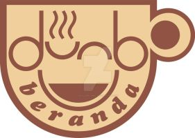 beranda cafe logo light by waloehcomic