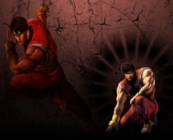 Guy Street Fighter Wallpaper by 1KamZ