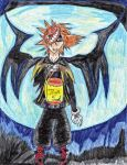 Yellowemofish Trade: KH Sora by xXLove-Less-GirlXx