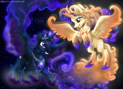 Celestia and Luna's Parents by MyFantasyZone