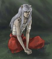 Inuyasha - pout by ab-lynx
