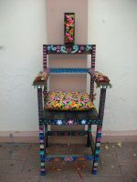 Colorful Electric chair by Minita