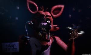 FNAF 1 - Foxy the Pirate Fox by GamesProduction