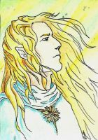 ACEO - Glorfindel by Clopina