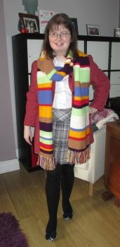 4th Doctor Scarf by fourthimbles