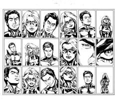 Miss Marvel 26 Pg 16,17 Inks by Mariah-Benes