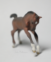 Stablemate Frolicking Foal WIP 99% by Ayedeas