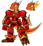 flametalikkudramon by dragonnova52
