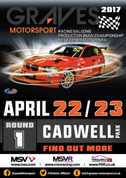 2017 Cadwell Park Poster by gridart