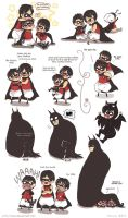 Doodles - Batman 7 by yolin