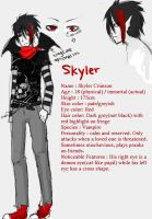 OC skyler by Everinn