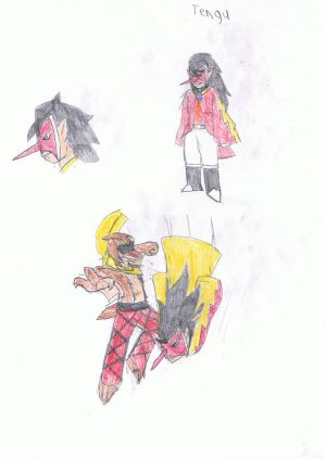 Tengu (Legendz variety fan made by me)