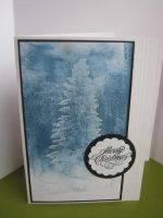 Vaseline Resist Christmas Card by janinesmith54