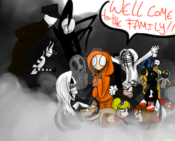 Wellcome to the family, Kenny by Helena-G-Fiorenza