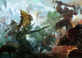 Dota2combat2 by TuArtist