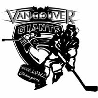 Vancouver Giants Tee logo by Clyner