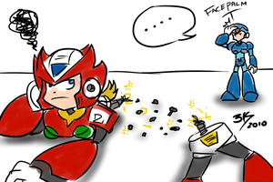Quickie: Zero's.. malfunction? by Locke3K