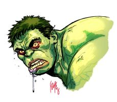 Age of Ultron freak-out Hulk by FelipeSmith
