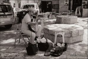 In the old Jerusalem 6 by ShlomitMessica