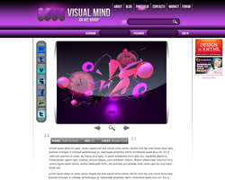 Visual Mind Template by The-Swift-Design