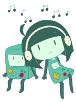 beemo and human beemo by AnarchyAngel91