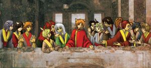 The Last Supper by Candid-Ishida