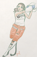 Chell Finished by yumikay17