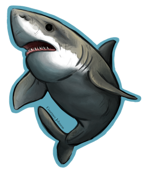 Shark Week: The Great White by CourtneysConcepts
