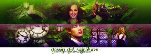 Gossip Girl banners by by-tessa