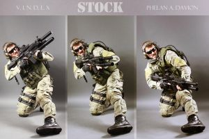 Combat Soldier STOCK IV by PhelanDavion