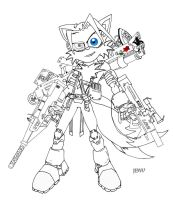 Tails Comic Warfighter by CapnChryssalid