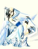 Rukia's Bankai Form by Brokenx3Dreams