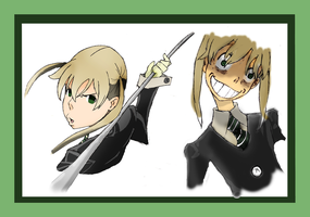 Maka X 2 by theghostlyartist