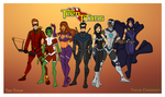 My DC Universe - Teen Titans Redesigned by Femmes-Fatales