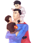 Superman and Superbabies by cchome