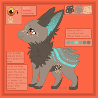 Lente - Reference Sheet by PoonieFox