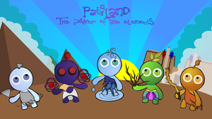 PatiLAND  The power of the elements by Dam0012
