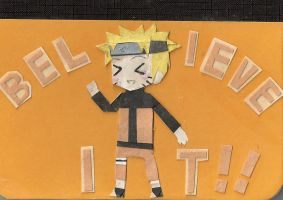 Naruto Mini-notebook by MolecularClouds
