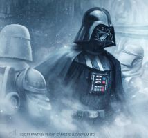Star Wars: TCG - Darth Vader by AnthonyFoti