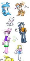 yay bunniieess by vaporotem