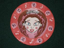 Zombie Girl Plate 02 Front by Gummibearboy