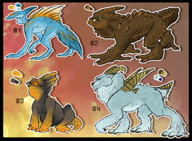 Drake Adoptables [CLOSED] by Panoptos