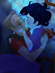 Underwater Kiss by MultiverseCafe