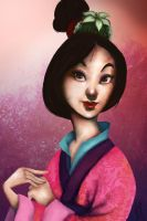 Mulan by Andreanable