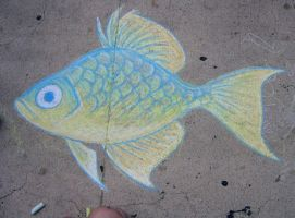 Chalk Fish 2007 by Dustmeat
